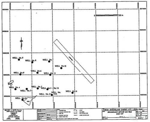 Broadmeadows Methane Gas Field, 1989