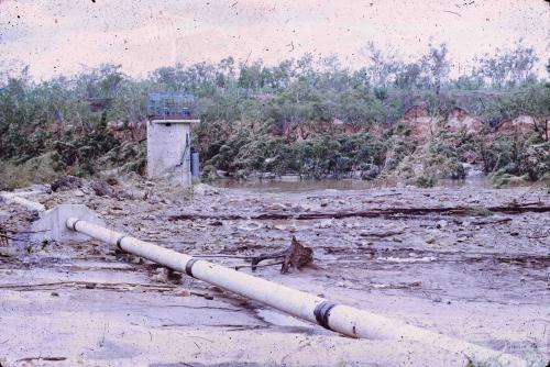 Damage caused by Cyclone Ada, Collinsville, 1970
