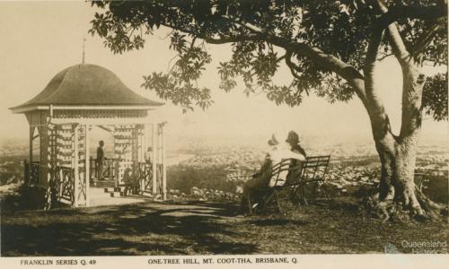 One Tree Hill, Mt Coot-tha, Brisbane, c1938