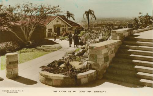 The kiosk at Mt Coot-tha, Brisbane c1950