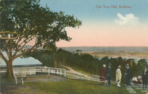 One Tree Hill, Mt Coot-tha, Brisbane , c1910