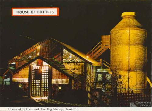 House of Bottles and The Big Stubby, Tewantin, c1962