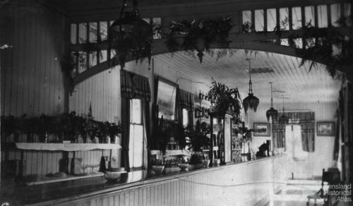 The Refreshment Room at Bethania Junction, 1913