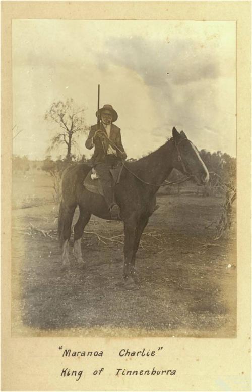 Maranoa Charlie, Kunja elder, c1910