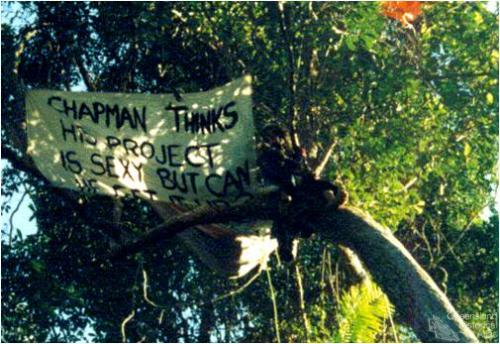 Anti-Skyrail protest, 1994