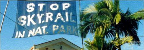 Stop Skyrail in National Park, 1994