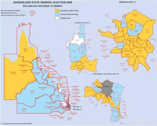 Queensland State election, 2009