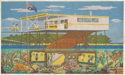 Green Island observatory, c1950