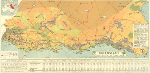 1945 Queensland Land Use Map
