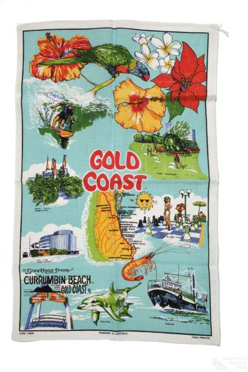 Tea-towel: Gold Coast