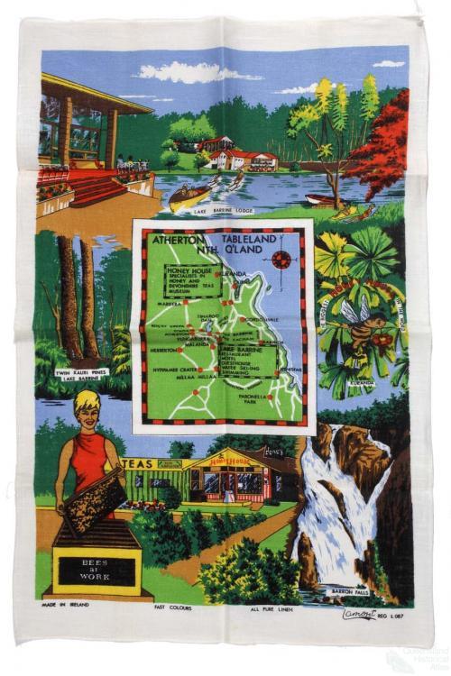 Tea-towel: Atherton Tablelands