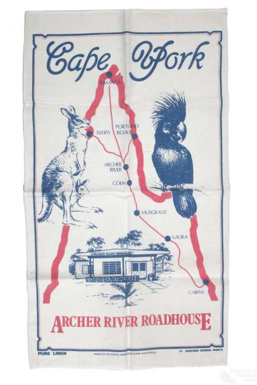 Tea-towel: Cape York