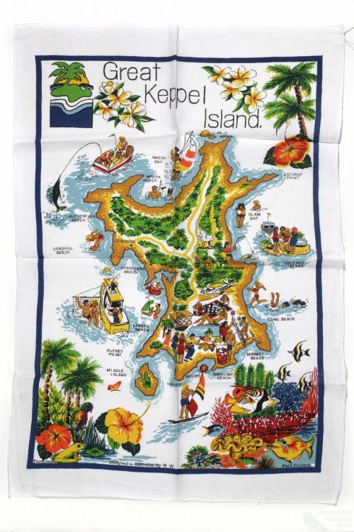 Tea-towel: Great Keppel Island