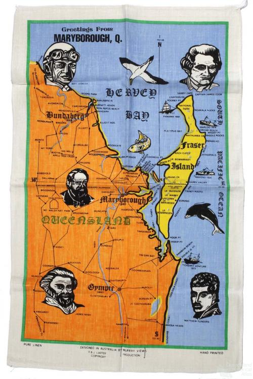Tea-towel: Maryborough