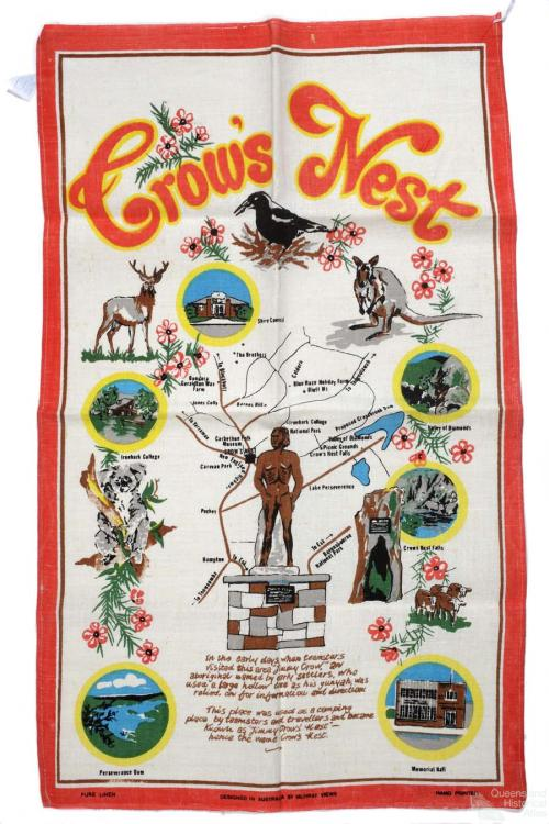 Tea-towel: Crow's Nest