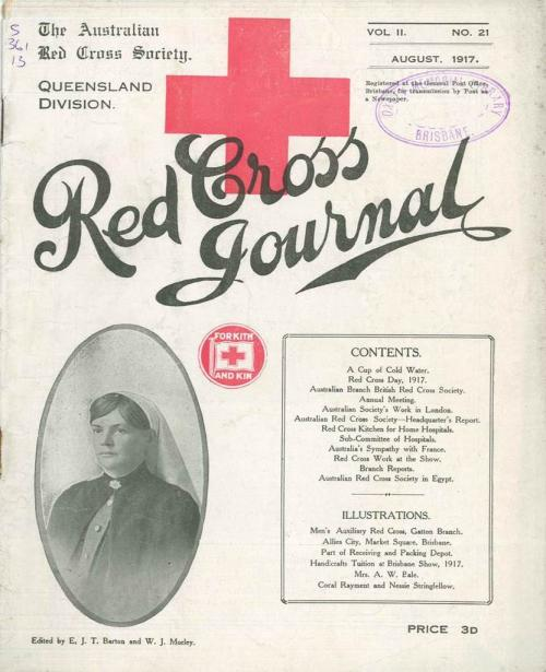 Red Cross Journal, August 1917