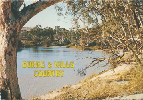 Cooper Creek, Channel Country, 1978