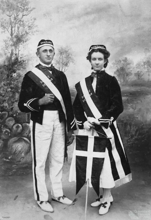 National Danish costume, c1907