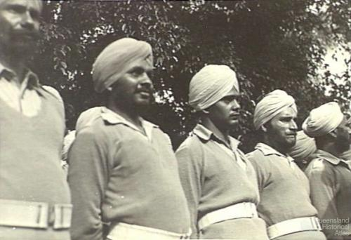 Recently released Sikh prisoners of war, Brisbane 1944