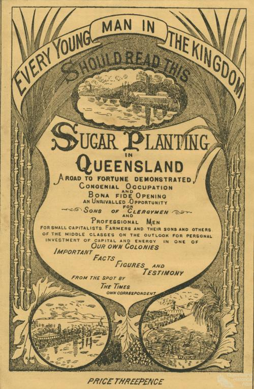 sugar cane ad from 1890