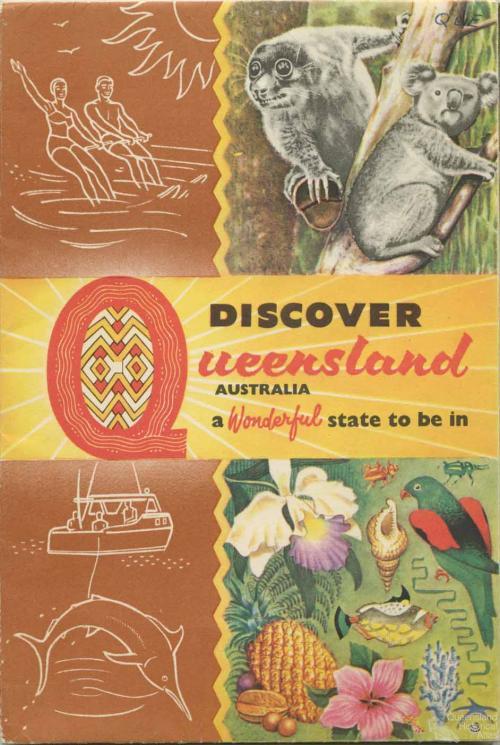 Discover Queensland, c1959