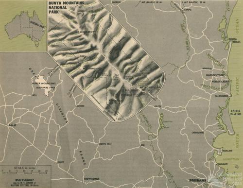 Bunya Mountains National Park, 1964
