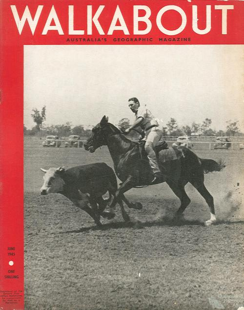 Walkabout cover, June 1945