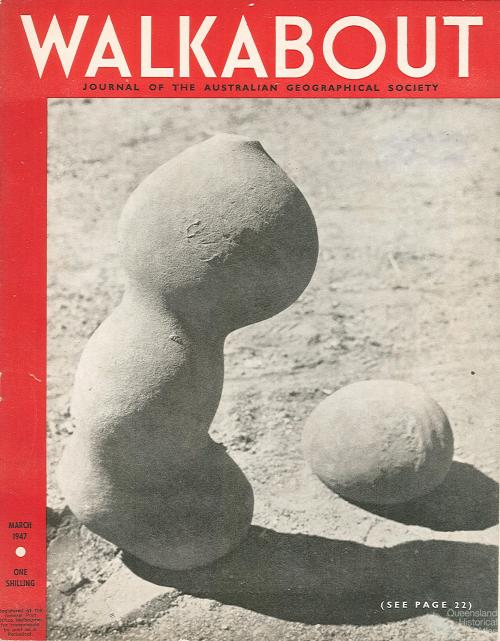 Walkabout cover, March 1947