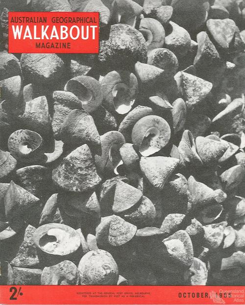 Walkabout cover, October 1955