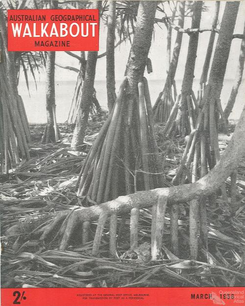 Walkabout cover, March 1956
