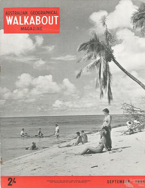 Walkabout cover, September 1958
