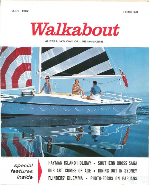 Walkabout cover, July 1962