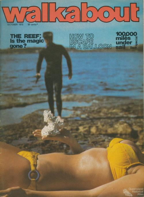 Walkabout cover, October 1972