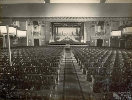 Bundaberg Wintergarden theatre, c1930