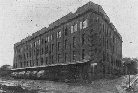 AML&F wool store, 1913
