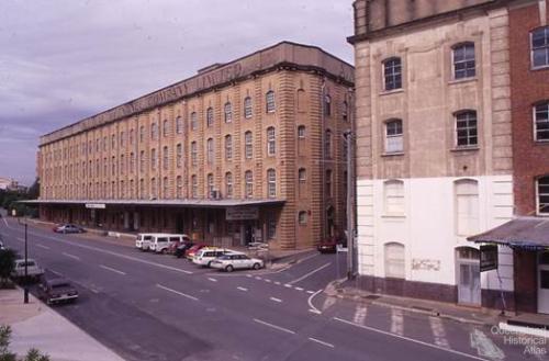 AML&F wool store, 1991
