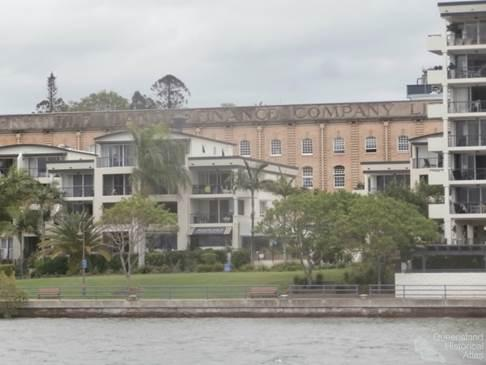 Old and the new, AML&F wool stores and waterside developments, 2014