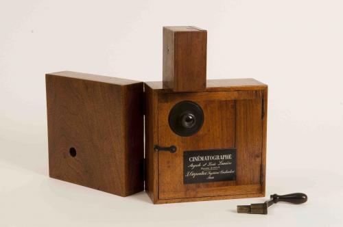 Lumiere camera, c1898