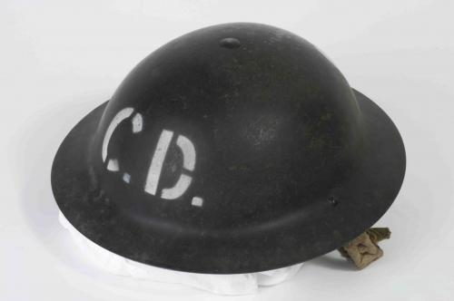 Civil Defence helmet, World War II