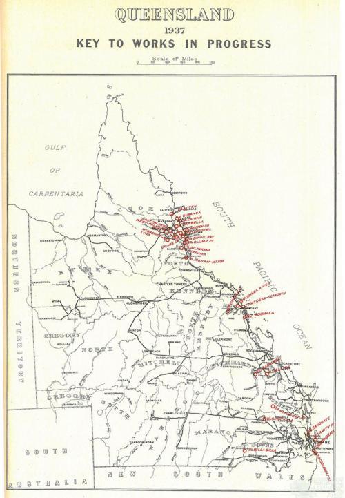 Queensland public estate improvements, 1937