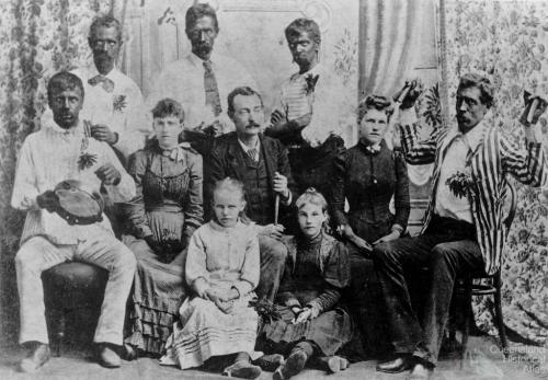 Paradise Minstrel Society, 1891