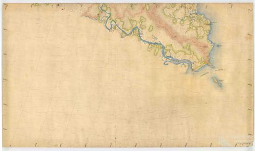 Aerial survey Cooktown to Daintree, Map 5, 1940