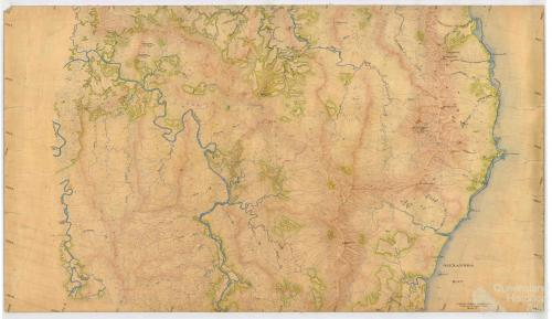 Aerial survey Cooktown to Daintree, Map 4, 1940