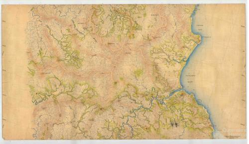 Aerial survey Cooktown to Daintree, Map 3, 1940