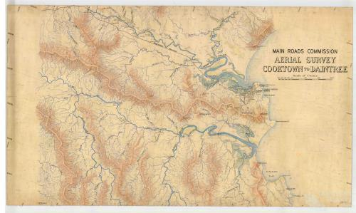 Aerial survey Cooktown to Daintree, Map 1, 1940