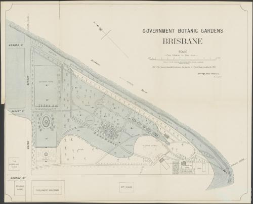 Government Botanic Gardens, Brisbane, c1890
