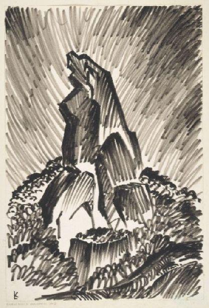 Glasshouse Mountain no. 3 c1960