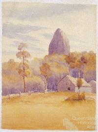 Mt Coonowrin c1889
