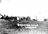 Shearer's camp, Langton Station, 1891