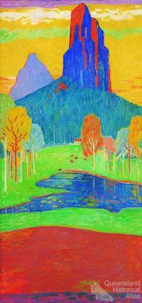 Glasshouse Mountains 1988
